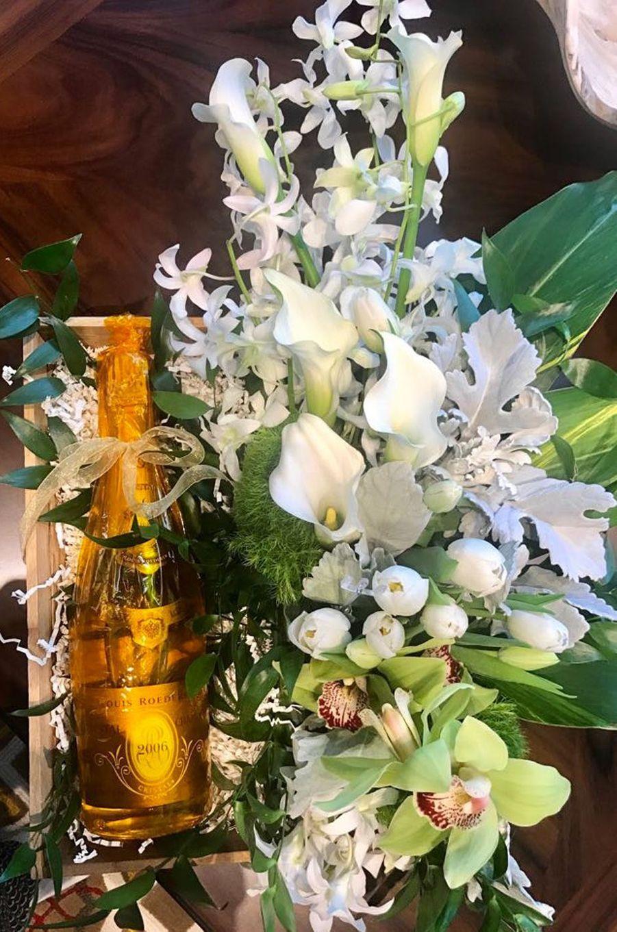 Les cadeaux de Céline Dion.