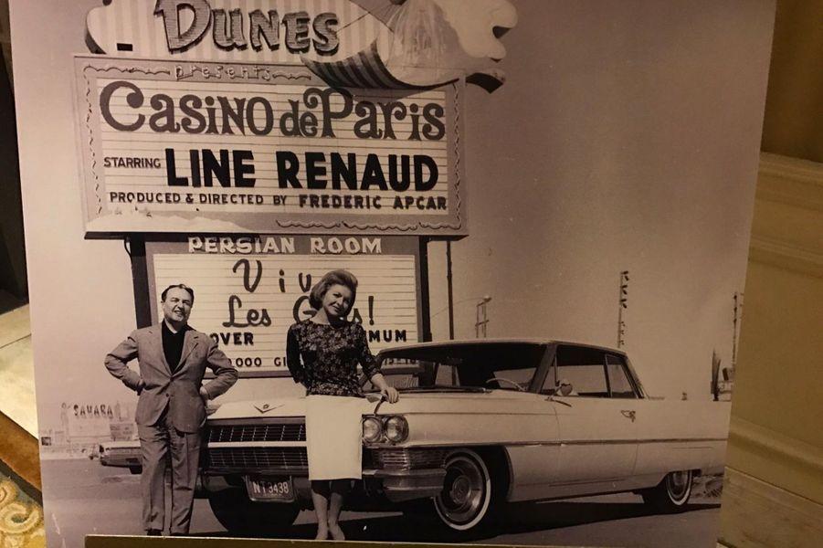 Les années Vegas de Line Renaud.