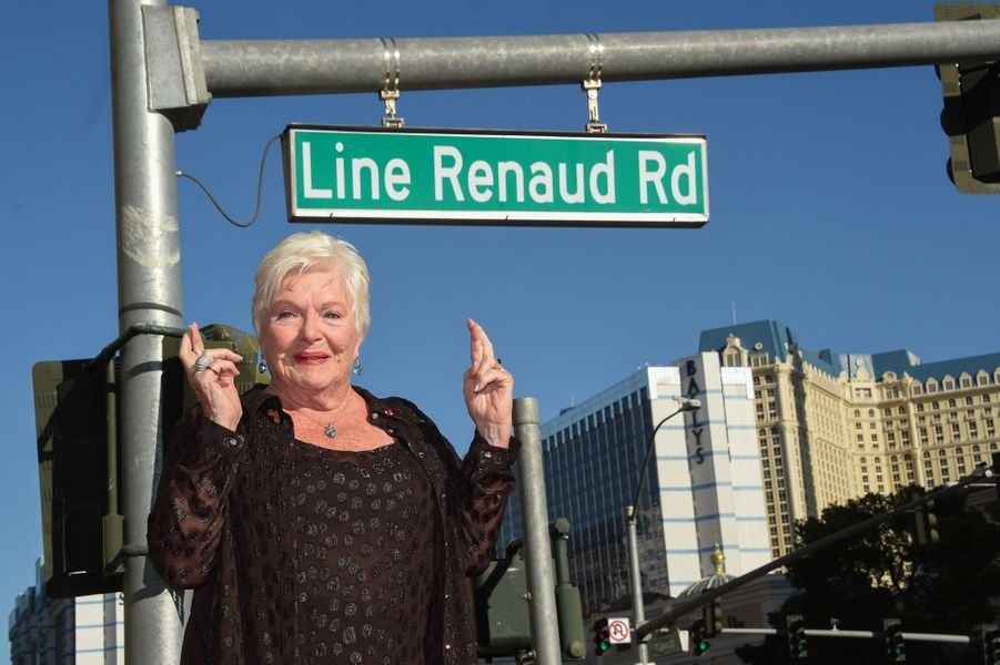 Line Renaud inaugure une rue à son nom à Las Vegas.