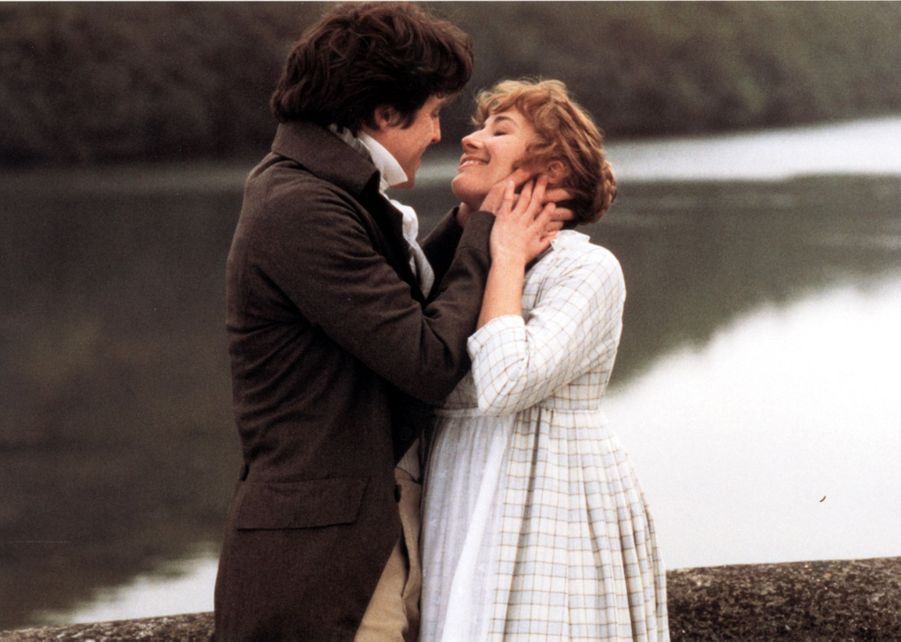 Hugh Grant et Emma Thompson dans«Raison et sentiments» (1995)