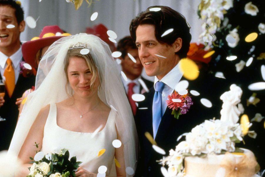 Hugh Grant et Renée Zellweger dans «Le journal de Bridget Jones»(2001)
