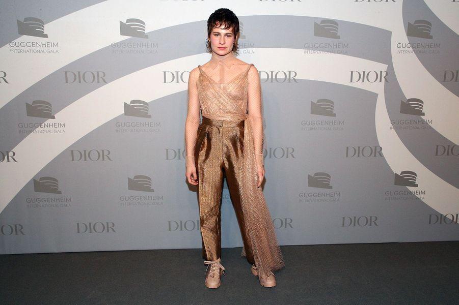 Christine and the Queenslors du gala international duGuggenheim le 14 novembre 2019 à New York.