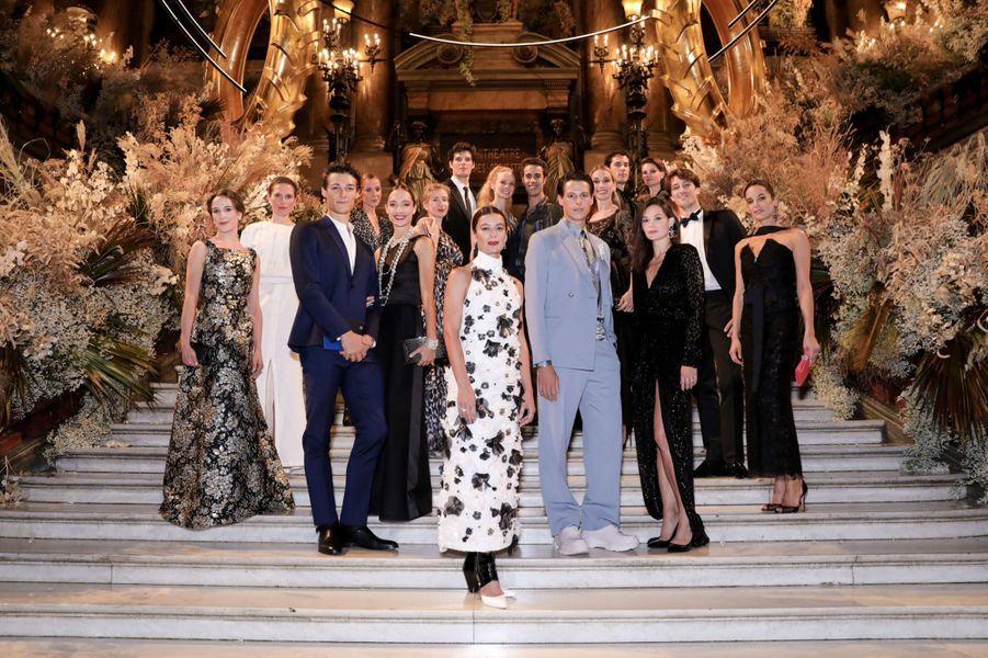 Les danseurs de l'Opéra national de Paris.