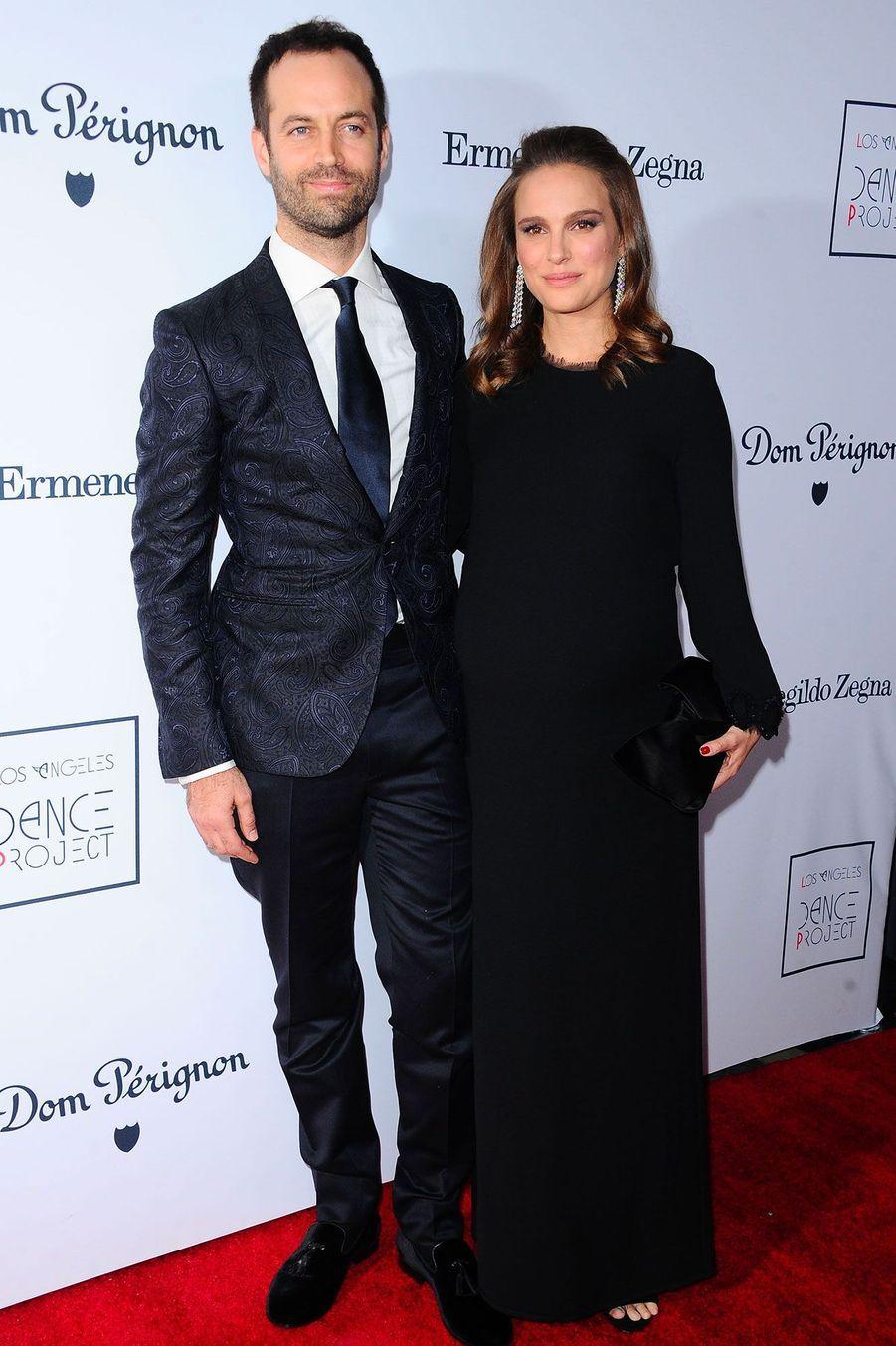 Benjamin Millepied et Natalie Portman