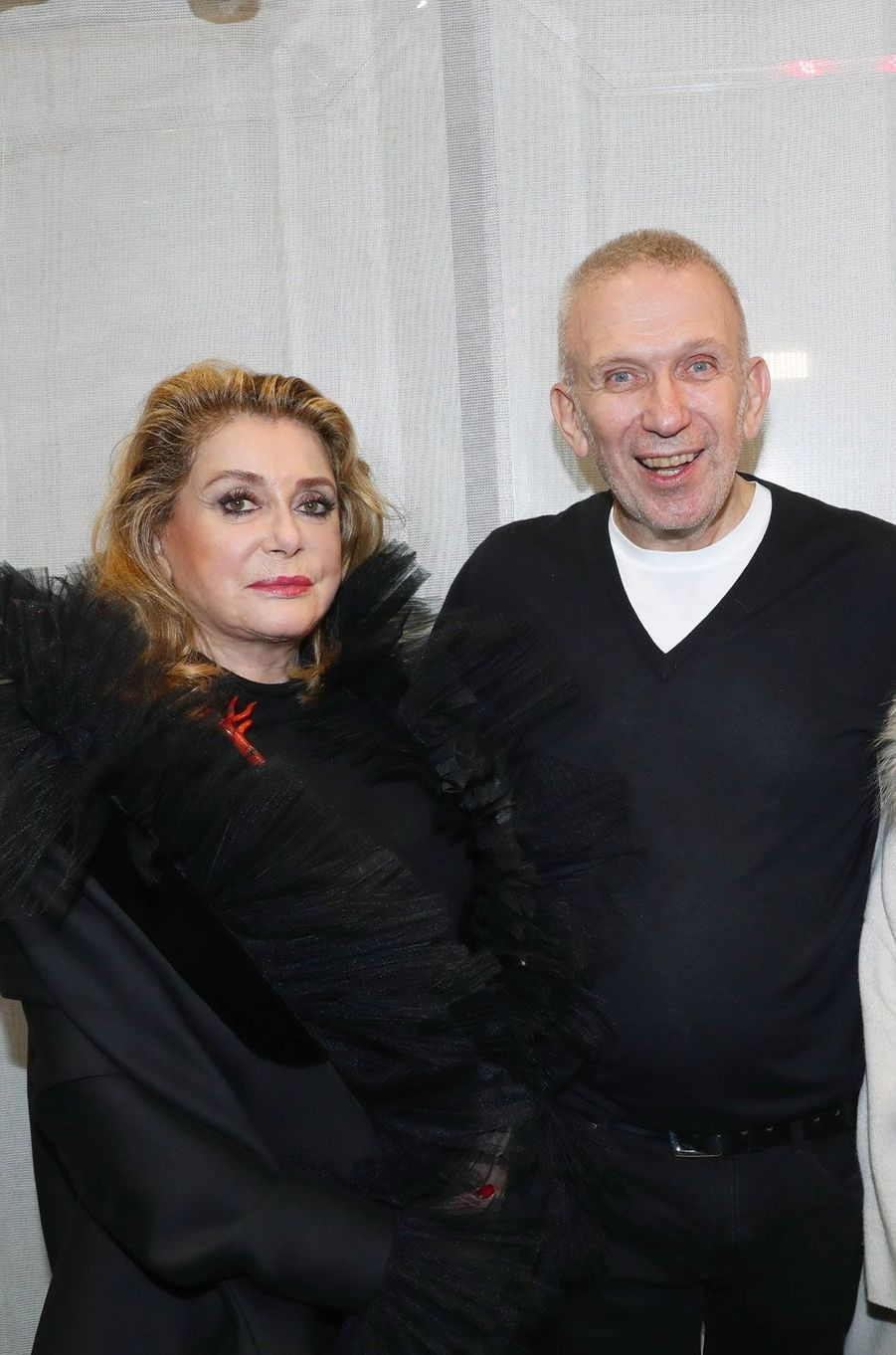 Catherine Deneuve et Jean-Paul Gaultier