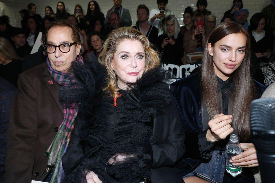 Gilles Dufour, Catherine Deneuve et Irina Shayk