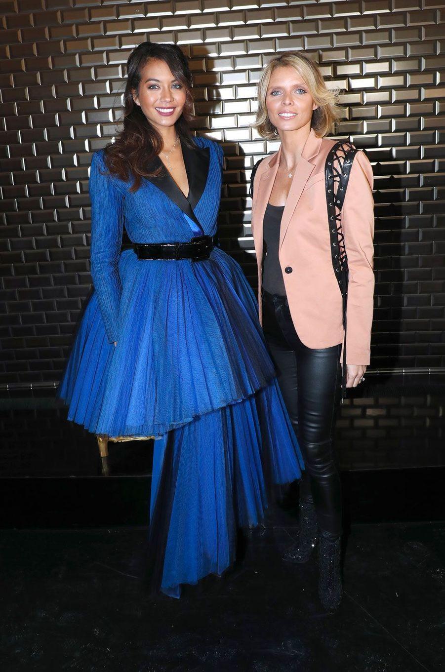 Vaimalama Chaves et Sylvie Tellier