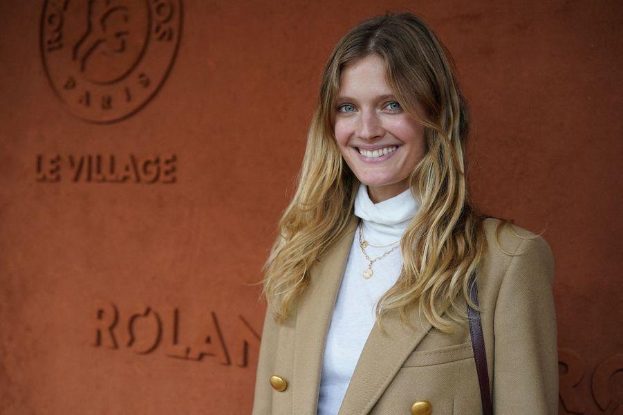 Constance Jablonski a assisté à la finale de Roland-Garros.