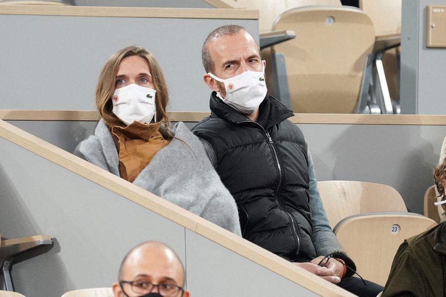Calogero a assisté à la finale de Roland-Garros.