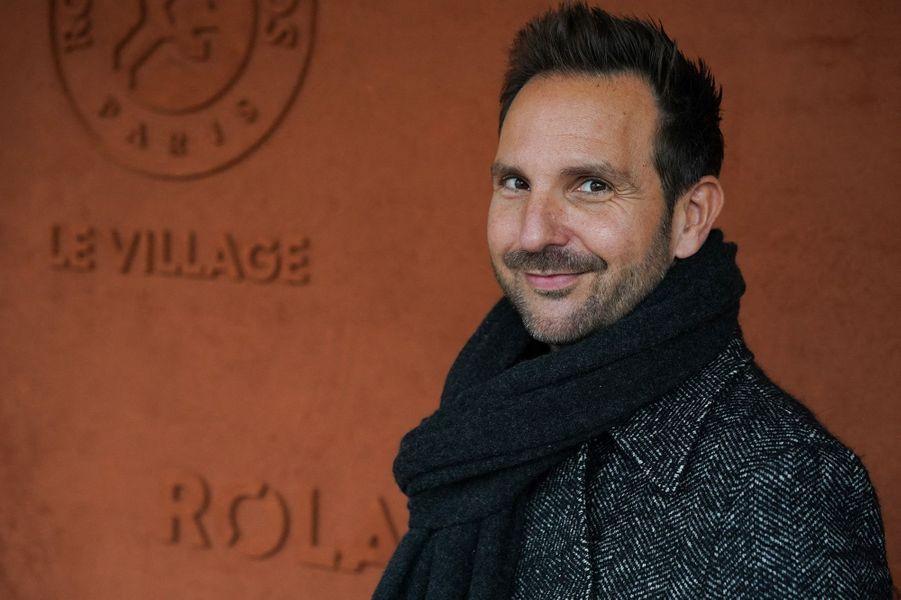 Christophe Michalaka assisté à la finale de Roland-Garros.
