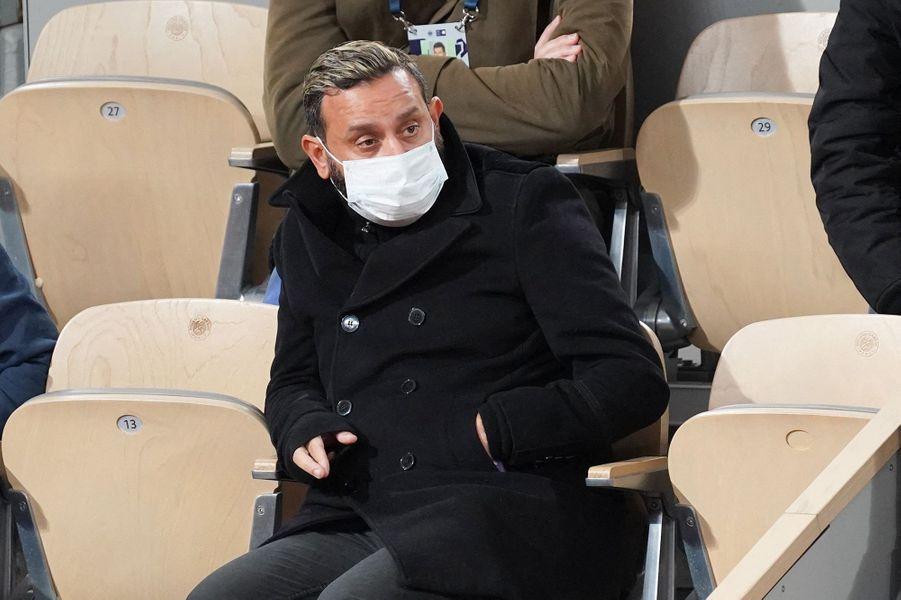Cyril Hanounaa assisté à la finale de Roland-Garros.