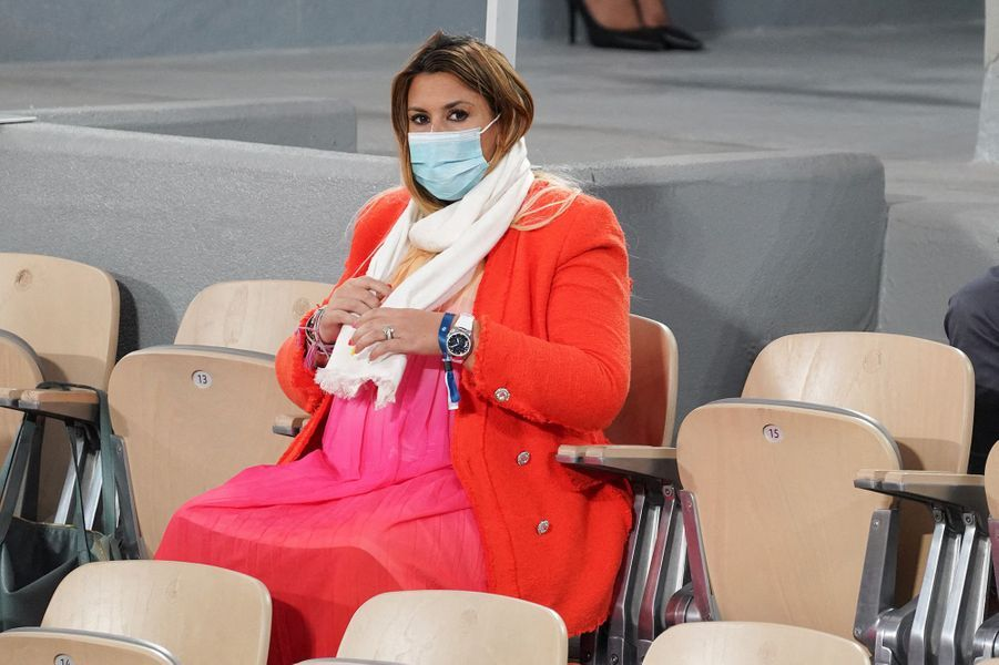Marion Bartolia assisté à la finale de Roland-Garros.
