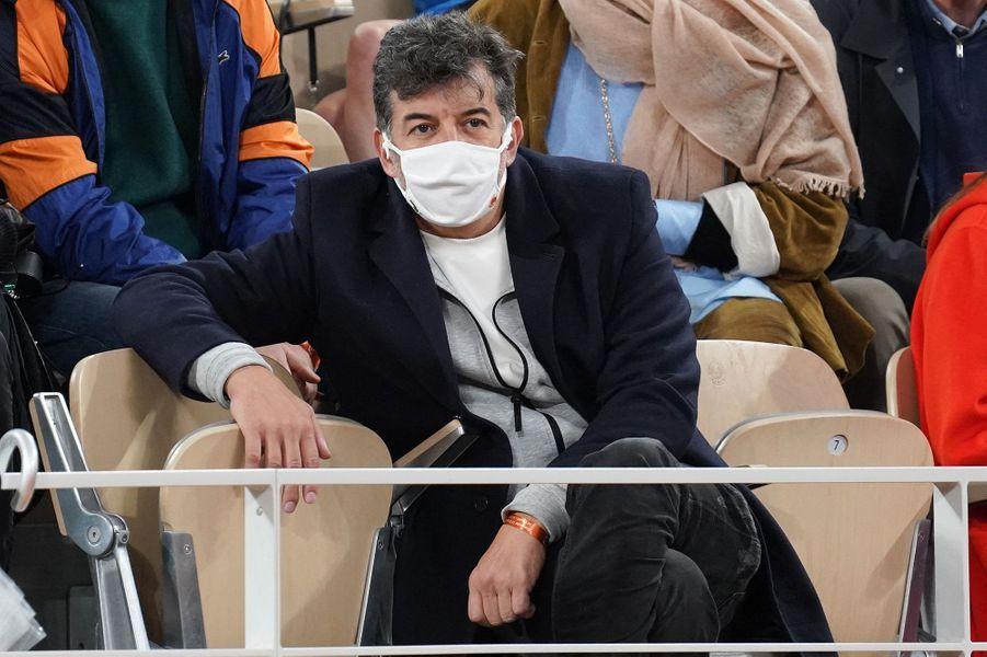 Stéphane Plazza a assisté à la finale de Roland-Garros