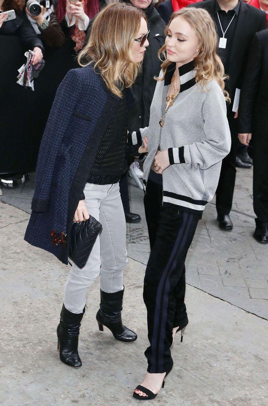 Mère et fille : Vanessa Paradis et Lily-Rose Depp.