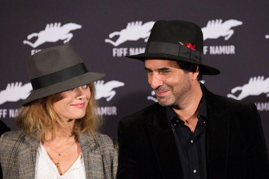 Vanessa Paradis et Samuel Benchetrit au Festival de Nemur, le 4 octobre 2017.