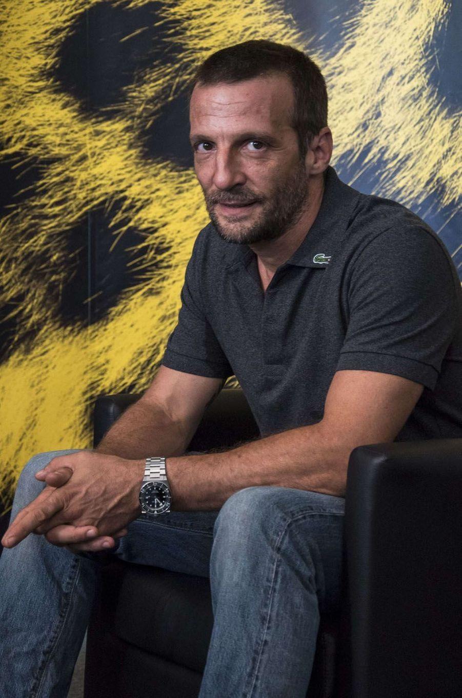 Mathieu Kassovitzau festival de Loncarno, le 5 août 2017.