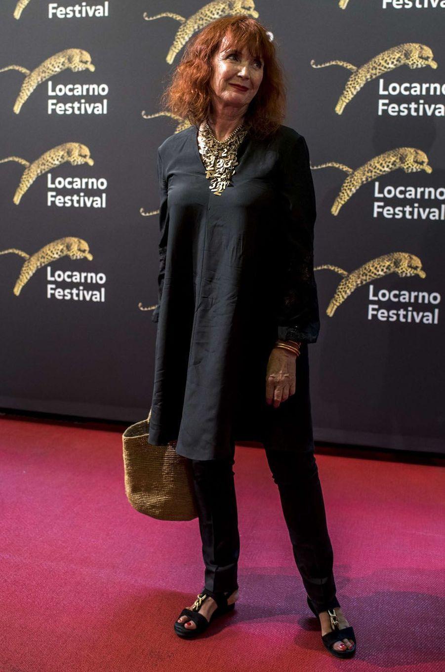 Sabine Azémaau festival de Loncarno, le 2 août 2017.