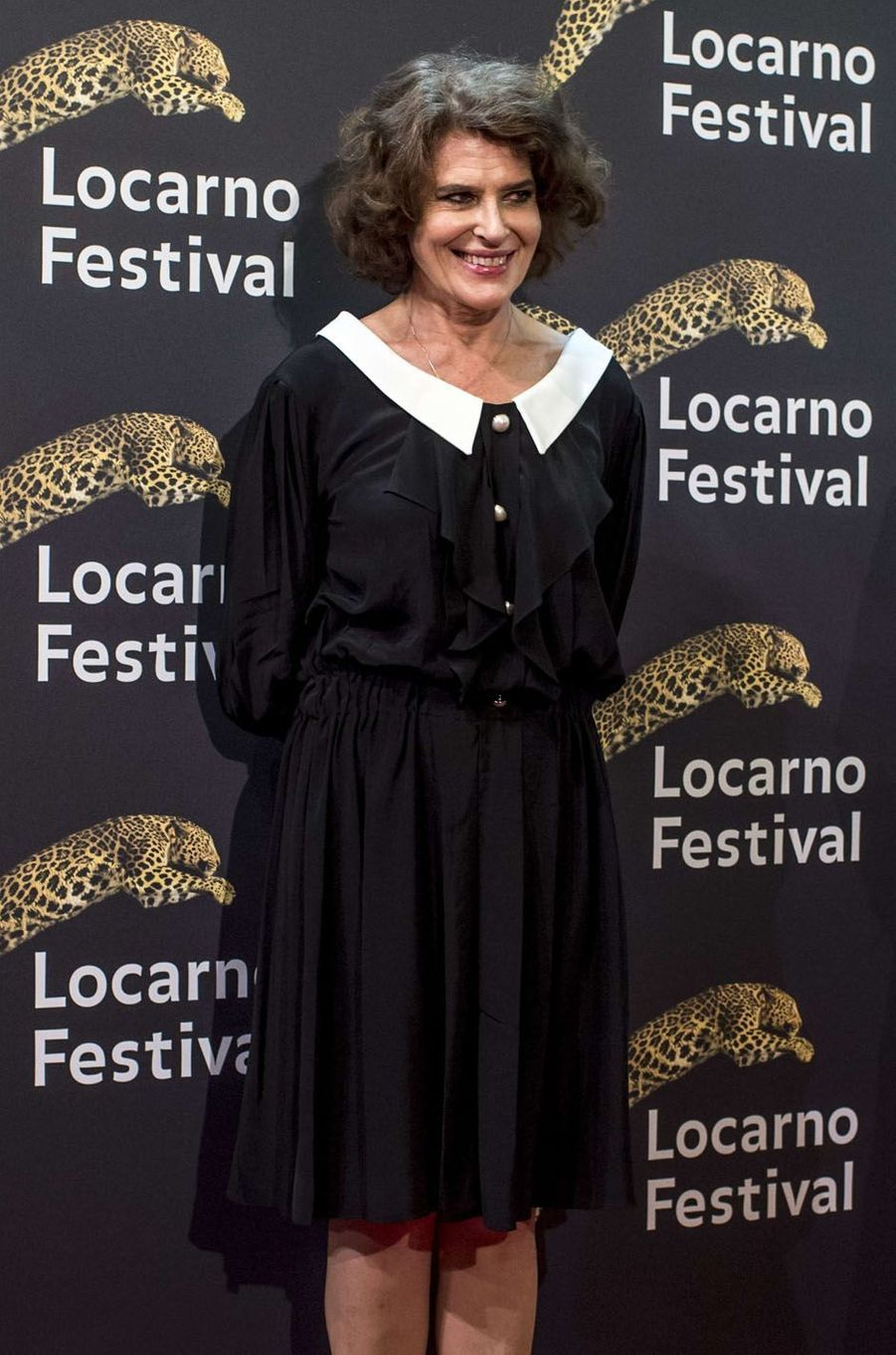 Fanny Ardantau festival de Loncarno, le 3 août 2017.