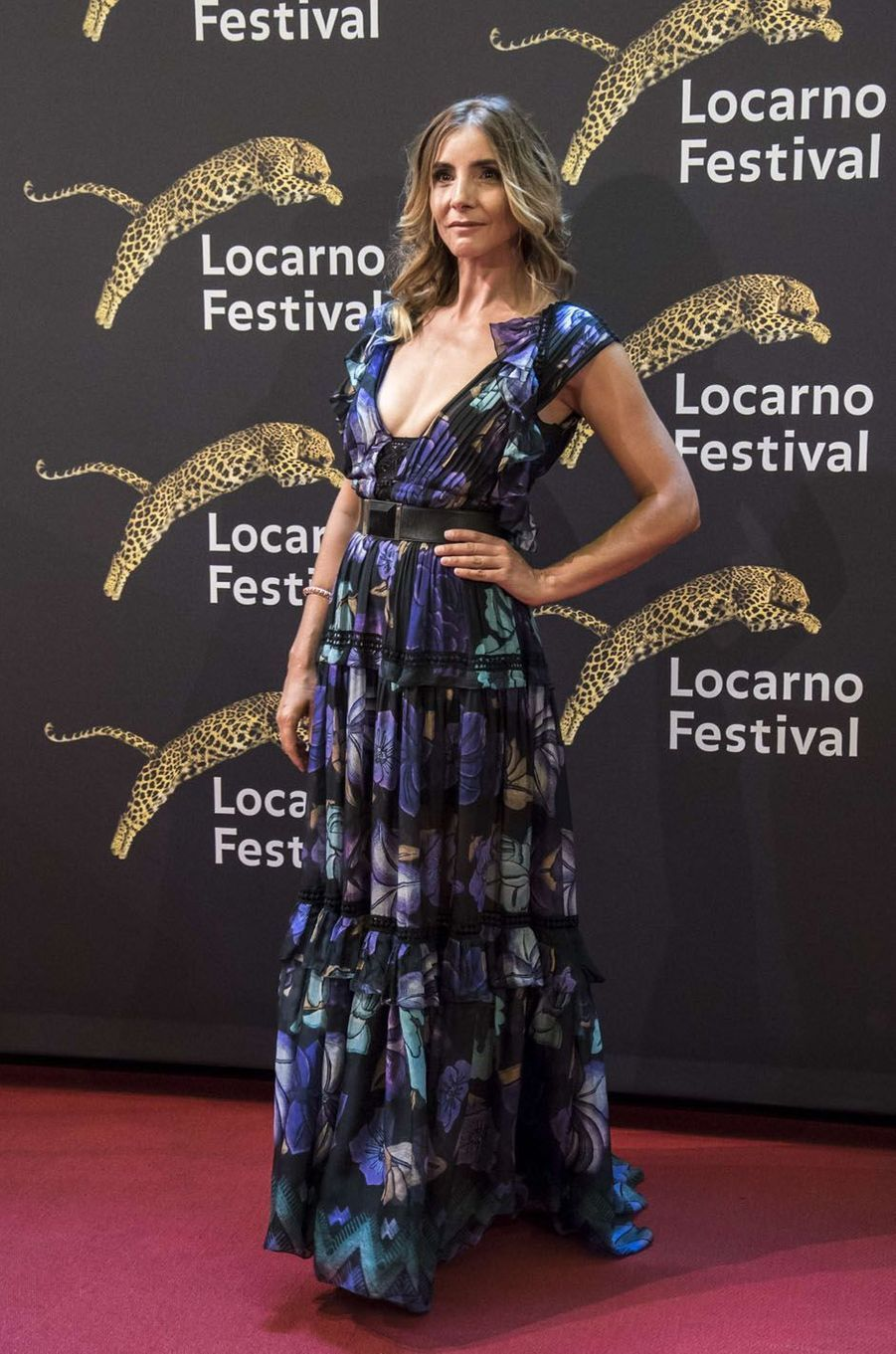 Clotilde Courauau festival de Loncarno, le 4 août 2017.