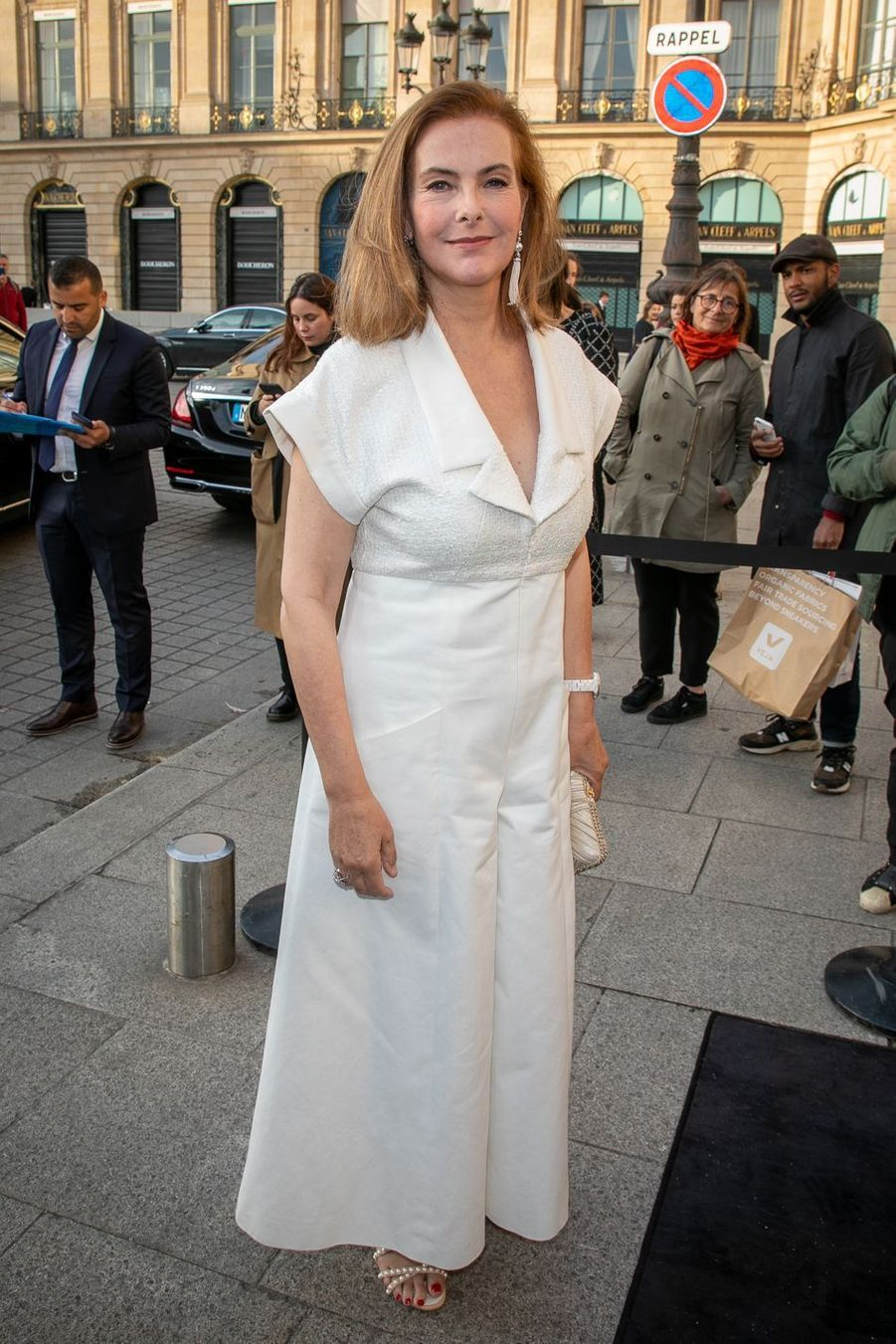 Carole Bouquet à Paris, le 2 mai 2019