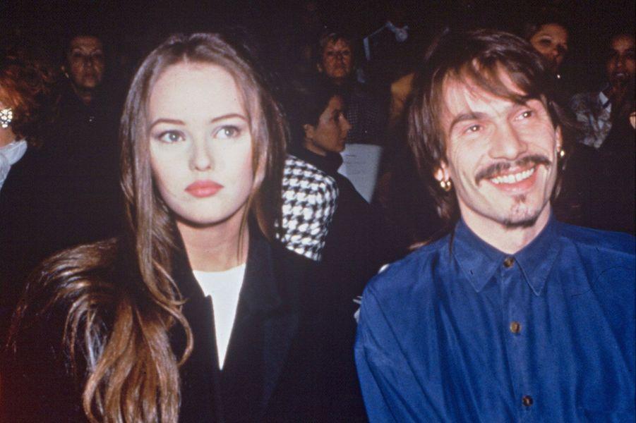 En 1988, Florent Pagny à 26 ans, Vanessa Paradis en a 15