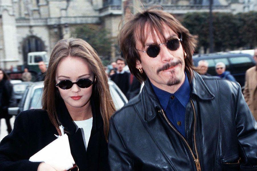 1988-1991 Florent Pagny et Vanessa Paradis sont en couple