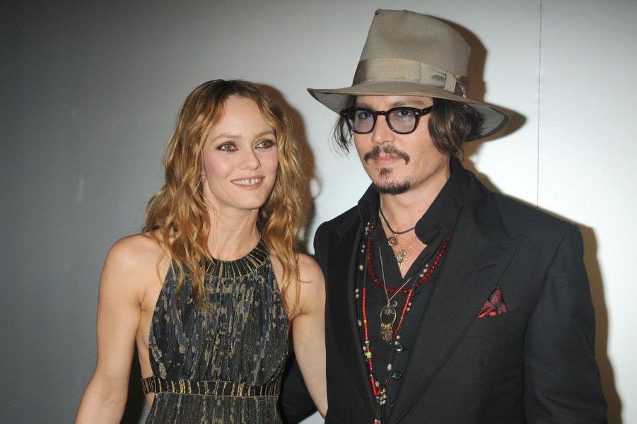 1998-2012 Johnny Depp et Vanessa Paradis sont en couple