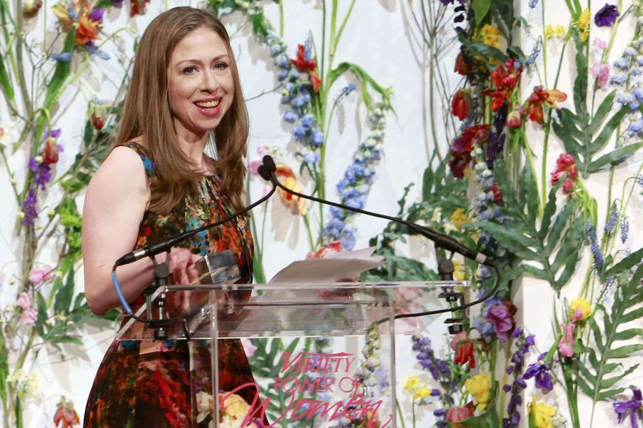 Chelsea Clinton s'exprime à la soirée «Power of Women».