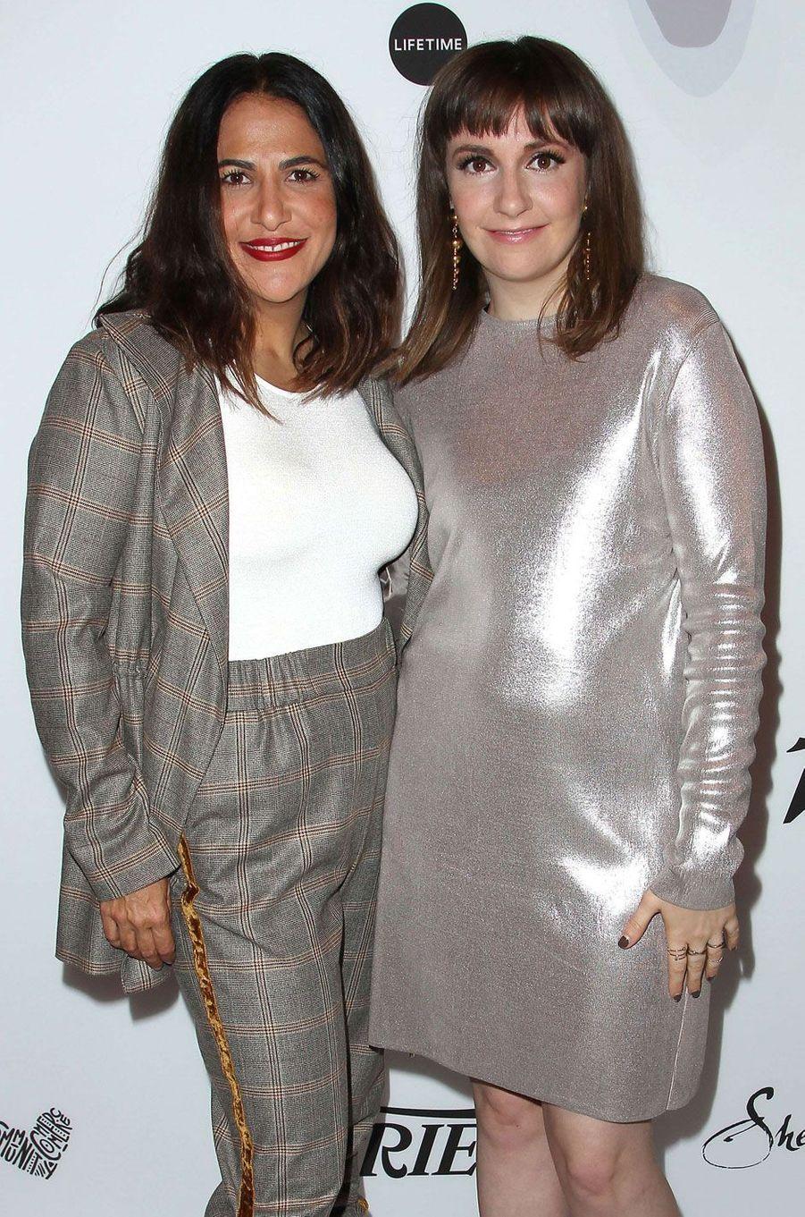 Jennifer Kronner et Lena Dunham.