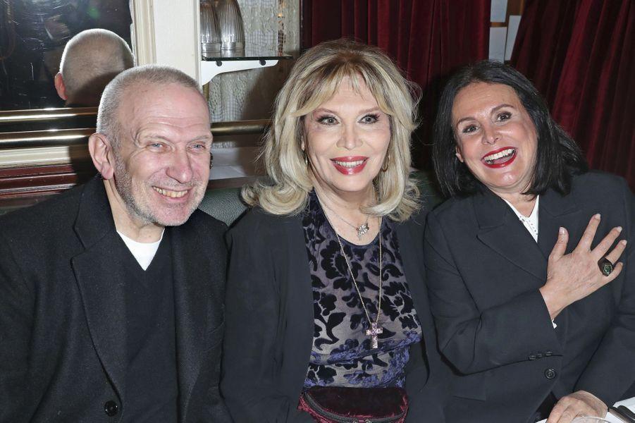 Jean Paul Gaultier, Amanda Lear, Terry de Gunzburg.