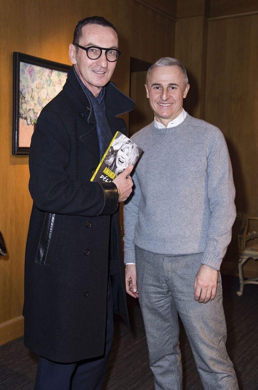 Bruno Frisoni et Hervé Van der Straeten.