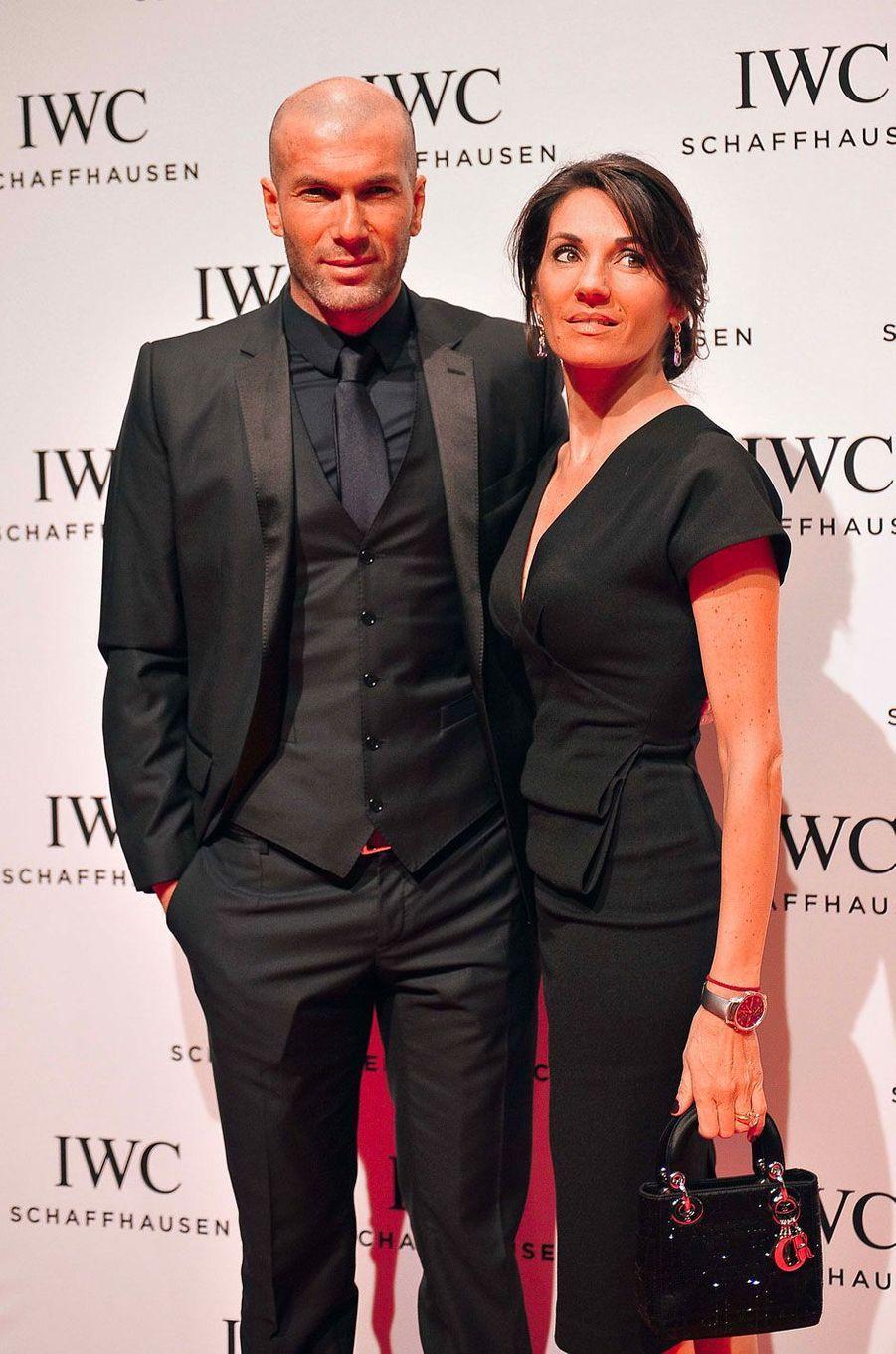 Véronique et Zinédine Zidane