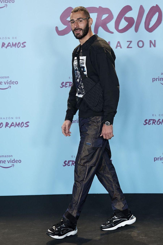 Karim Benzema à la première de«El Corazon de Sergio Ramos», à Madrid