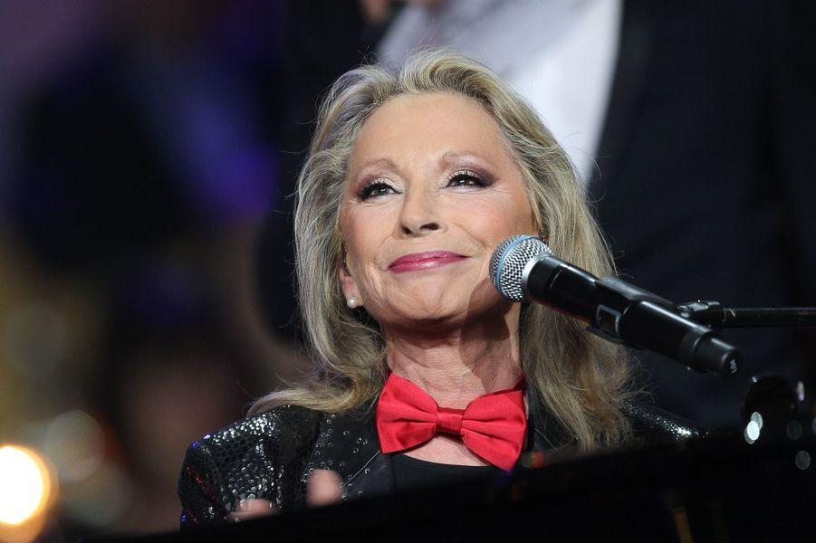 """Véronique Sanson lors des """"Victoires de La Musique"""" à Paris, le 8 février 2013"""