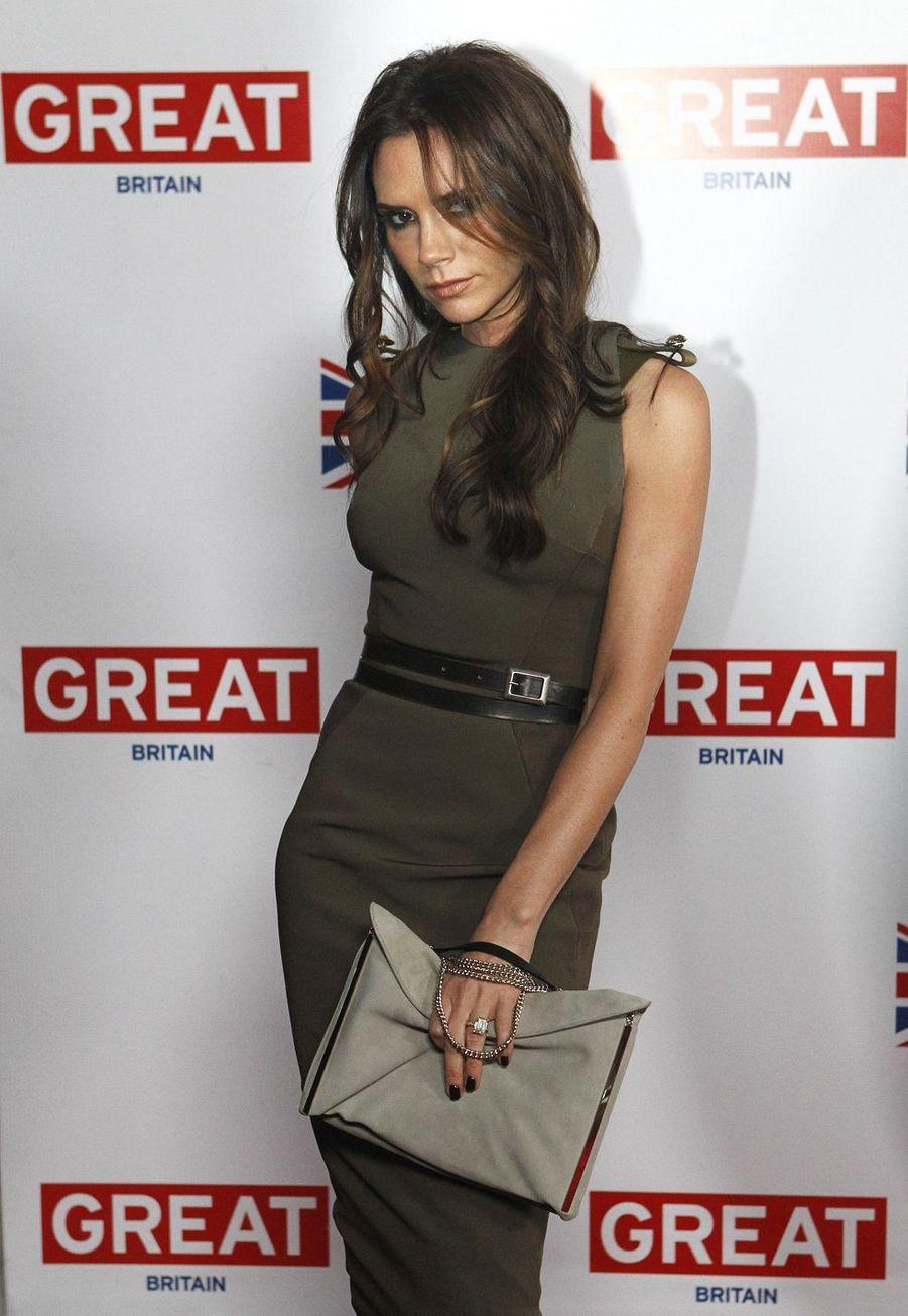 Victoria Beckham à Los Angeles, le 24 février 2012