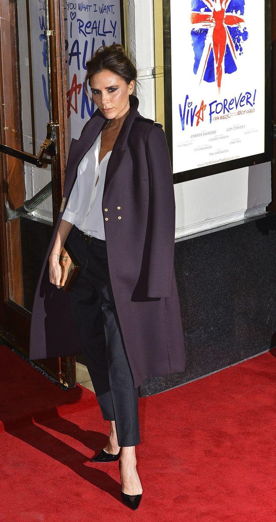 Victoria Beckham àLondres, le 11 décembre 2012