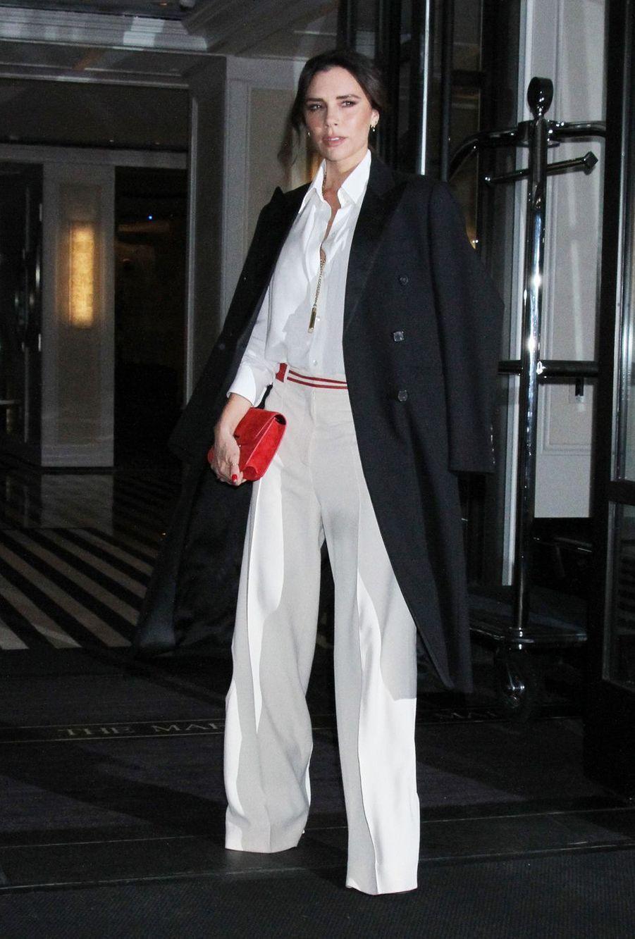 Victoria Beckham àNew York, le 24 janvier 2019