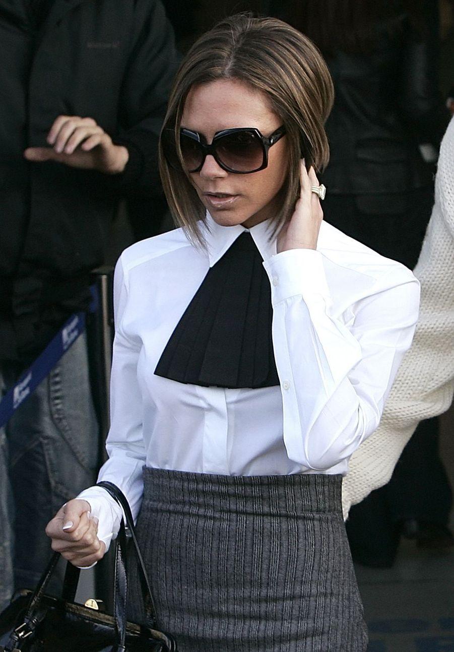 Victoria Beckham à Rome, le 17 novembre 2006