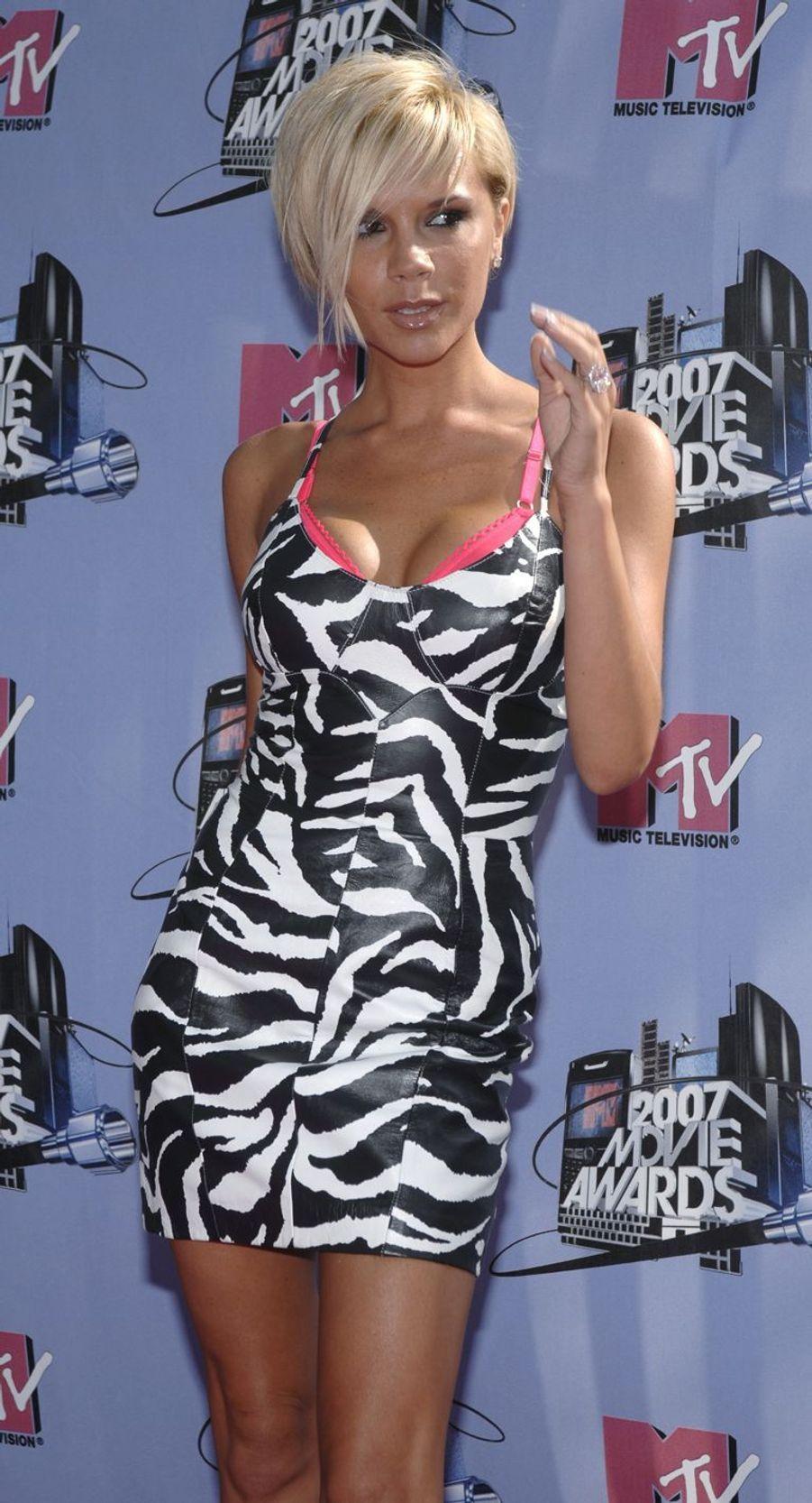 Victoria Beckham à Los Angeles, le 3 juin 2007