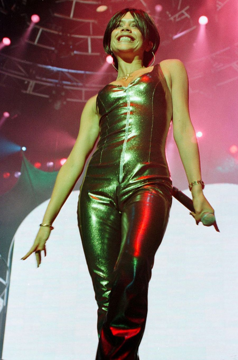 Victoria Beckham, aka Posh Spice, le 24 février 1998