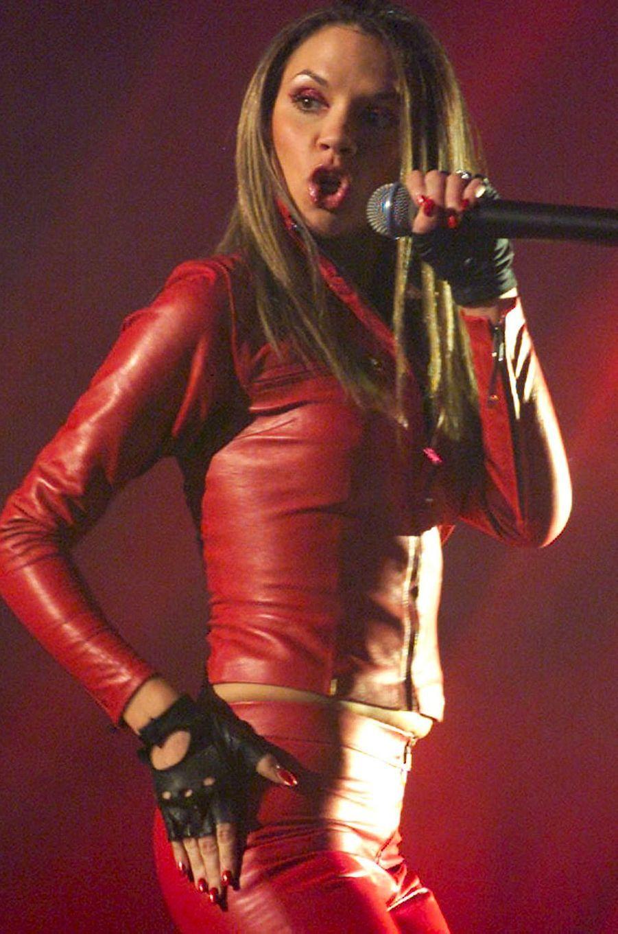 Victoria Beckham, aka Posh Spice, le 16 novembre 2000