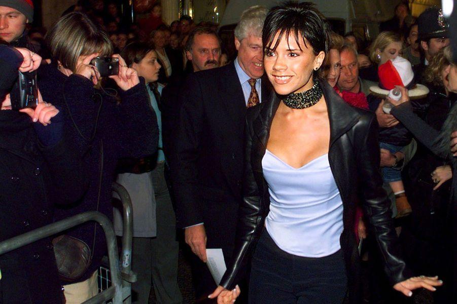 Victoria Beckham, aka Posh Spice, le 10 novembre 1999