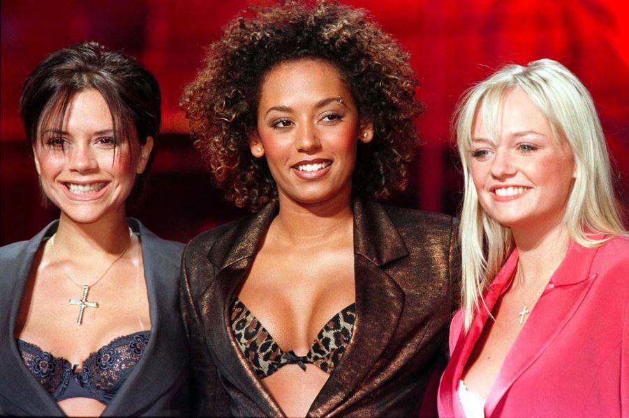 Victoria, Mel B et Emma, le 8 avril 1998