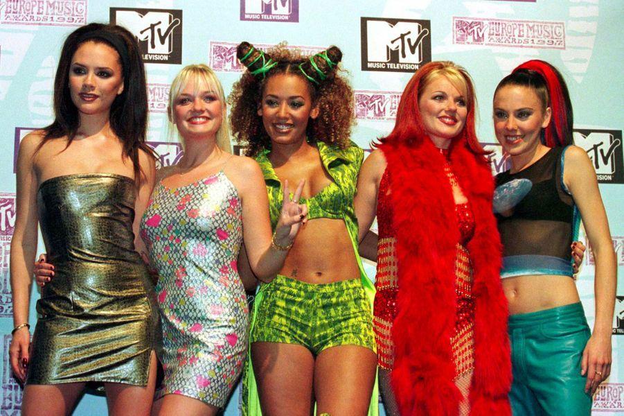 Les Spice Girls, le 6 novembre 1997