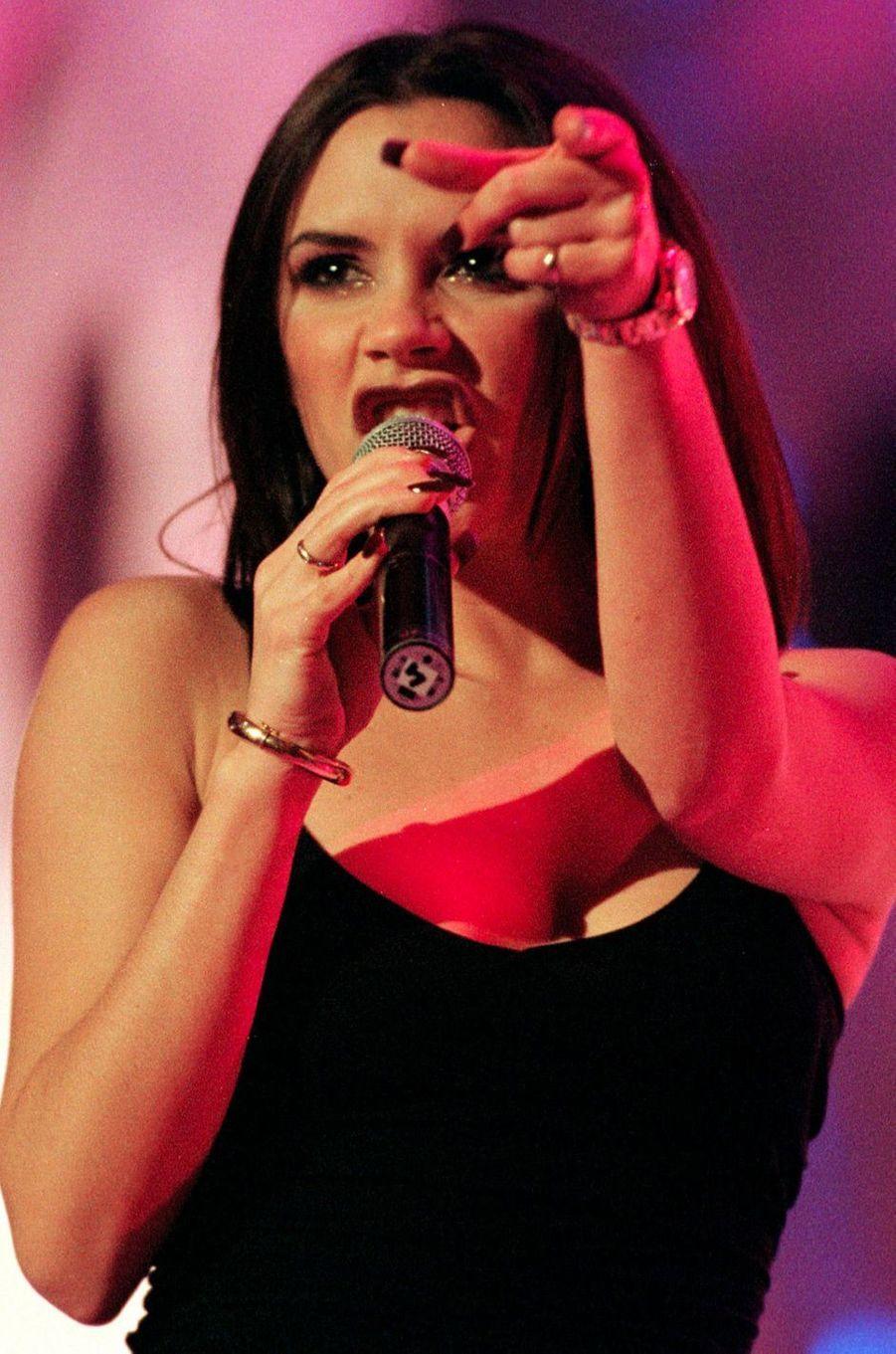 Victoria Beckham, aka Posh Spice, le 20 novembre 1997