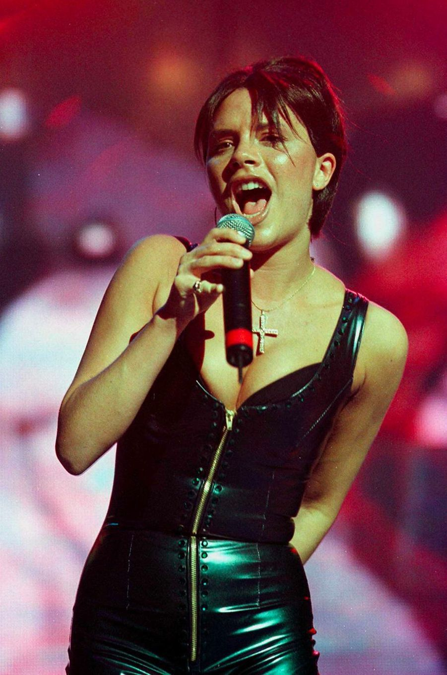Victoria Beckham, aka Posh Spice, le 15 juin 1998