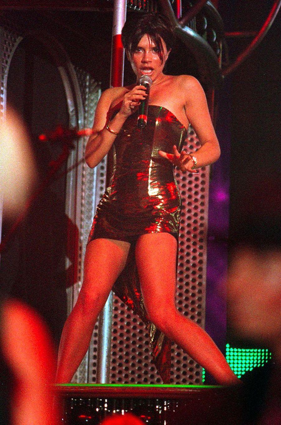 Victoria Beckham, aka Posh Spice, le 3 mars 1998