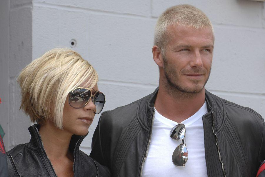 David et Victoria Beckham en 2007