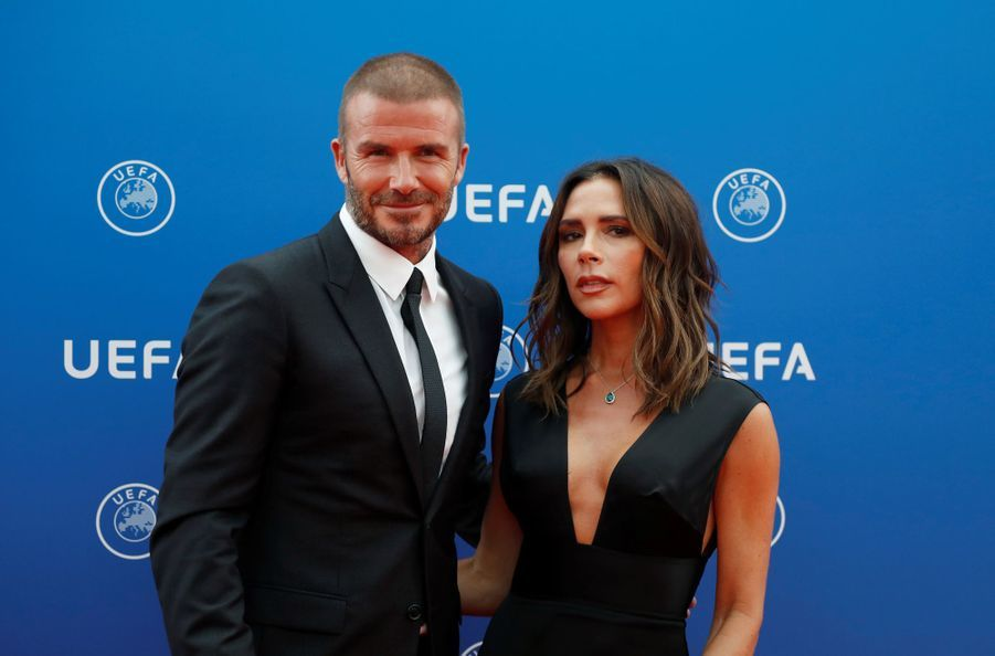 David et Victoria Beckham en 2018