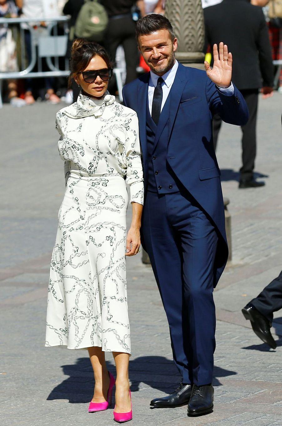 David et Victoria Beckham en 2019